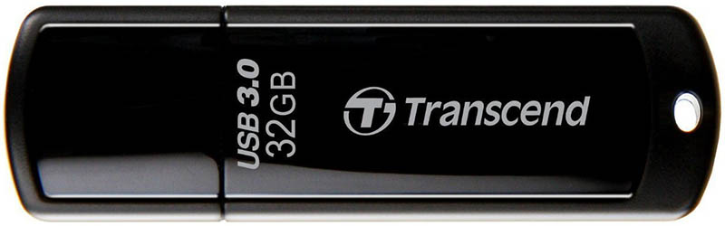 Накопитель Flash Drive Transcend 32GB JetFlash 700 (black) USB3.0 [TS32GJF700]